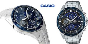 Reloj cronógrafo Casio Edifice EFR-556DB-2AVUEF para hombre barato en Amazon