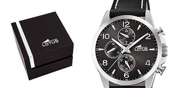 reloj de pulsera de cuero Lotus 18630-4 chollo