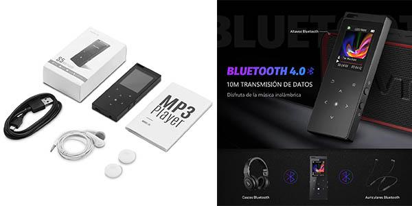 reproductos VicTsing Bluetooth calidad de sonido alta con cupón descuento en Amazon