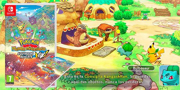 Pokémon Mundo Misterioso Equipo de Rescate DX para Switch