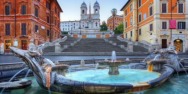 Roma escapada hotel Veneto Palace oferta