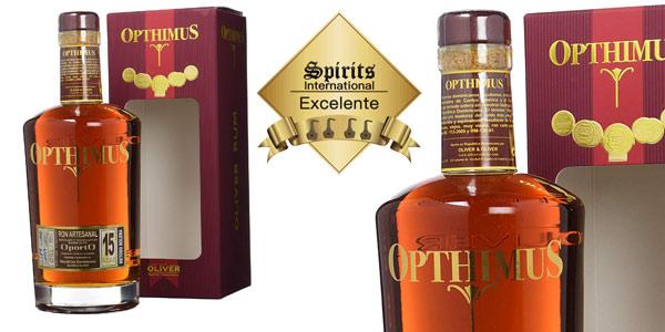 Opthimus Ron 15 Años de 700 ml Edición Limitada y numerada barato en Amazon