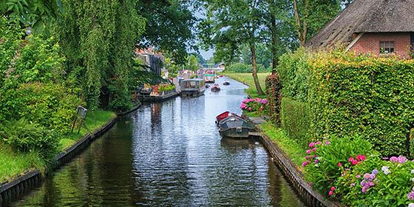 ruta barata pueblos con encanto Holanda