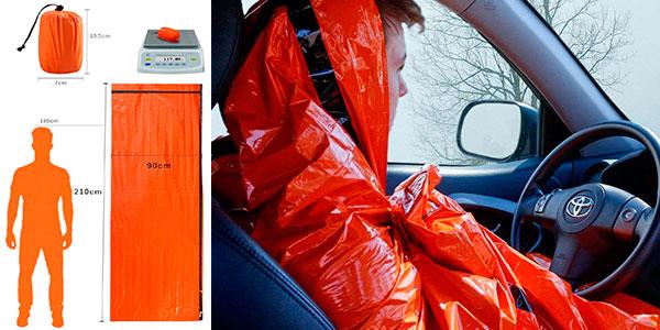Lote de 2 sacos de dormir de emergencia Honyao barato