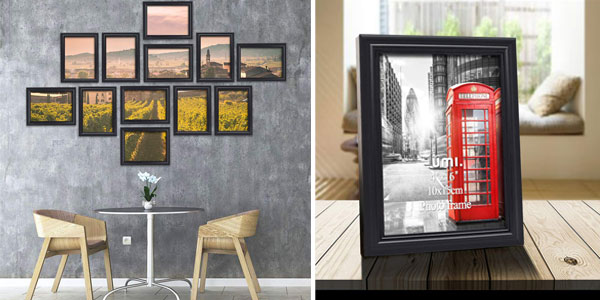 Pack x12 marcos de fotos Umi Essentials (15 x 10 cm) barato en Amazon