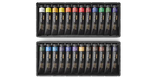 Set x24 Tubos de acuarela líquida Arteza de calidad Premium chollo en Amazon