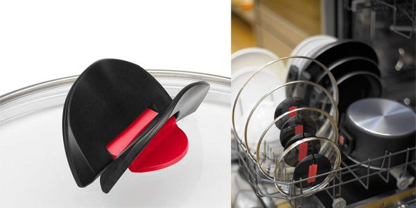 Set de 3 olllas Ballarini Click+Cook de 16, 20, 24 cm chollazo en Amazon