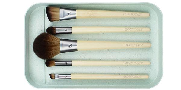 Set 5 Brochas maquillaje Ecotools Start the day beautifully kit (1606) chollo en Amazon
