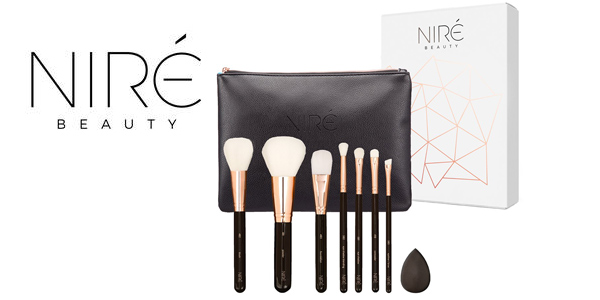 Set de 7 Brochas de Maquillaje Niré beauty Ultra Soft barato en Amazon