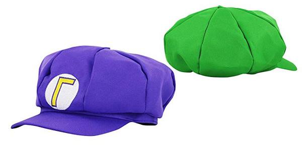 Set de disfraz Super Mario Luigi Wario y Waluigi chollazo en Amazon