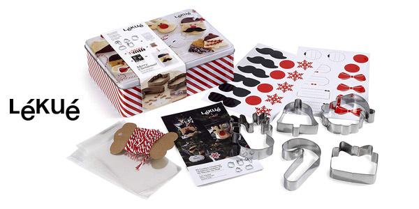 Kit Cookies Navidad Lékué barato en Amazon
