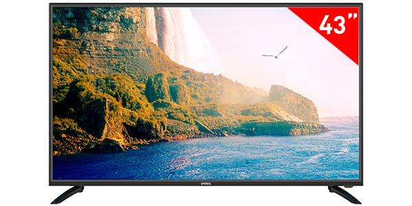 "Smart TV Inves LED-439 UHD 4K de 43"" con Android TV"