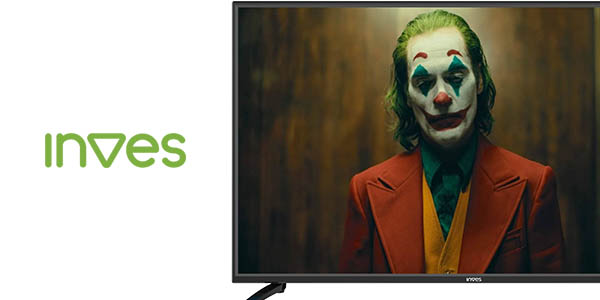 "Smart TV Inves LED-439 UHD 4K de 43"" con Android TV barato"