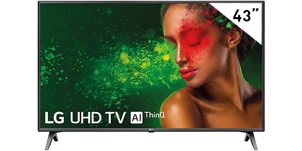 """Smart TV LG 43UM7500PLA UHD 4K HDR de 43"""""""