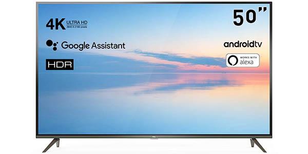 "Smart TV TCL 50EP640 UHD 4K HDR de 50"""