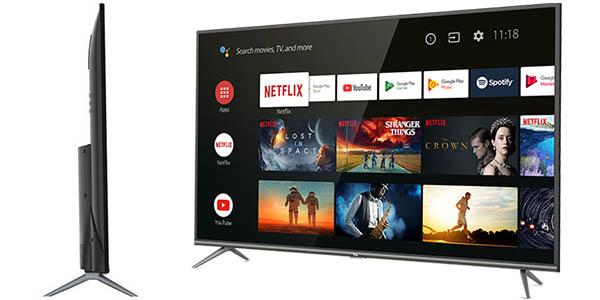 "Smart TV TCL 50EP640 UHD 4K HDR de 50"" barato"