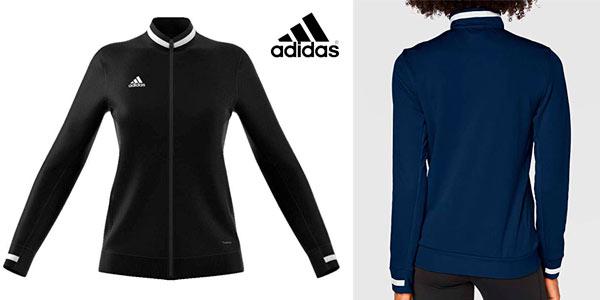 Sudadera Adidas T19 trk jkt w Sport Jacket en oferta en Amazon