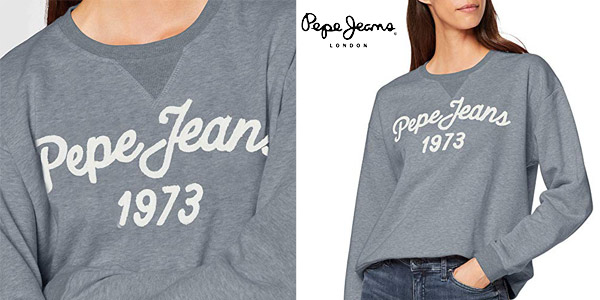 Sudadera Pepe Jeans Nanete chollo en Amazon