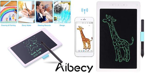 """Tableta de escritura inteligente de 10"""" Aibecy barata en Amazon"""