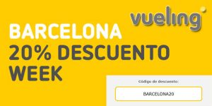 Vueling promoción vuelos desde y a Barcelona febrero 2020