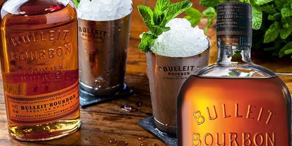 Whisky de centeno Bulleit Bourbon Frontier de 700 ml barato en Amazon