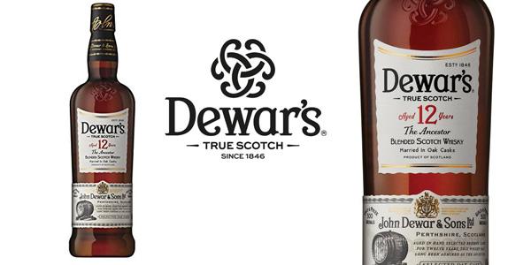 Whisky escocés Dewar's 12 años de 700 ml barato en Amazon