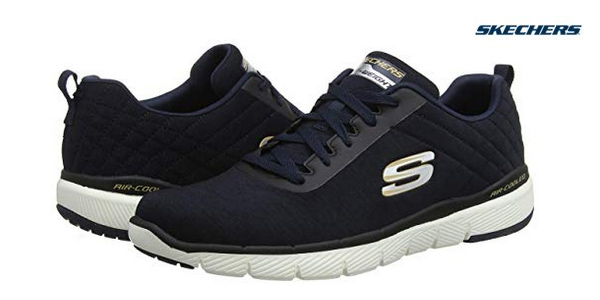 Zapatillas deportivas Skechers Flex Advantage 3.0-Jection para hombre baratas en Amazon