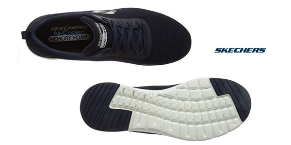Zapatillas deportivas Skechers Flex Advantage 3.0-Jection para hombre chollo en Amazon