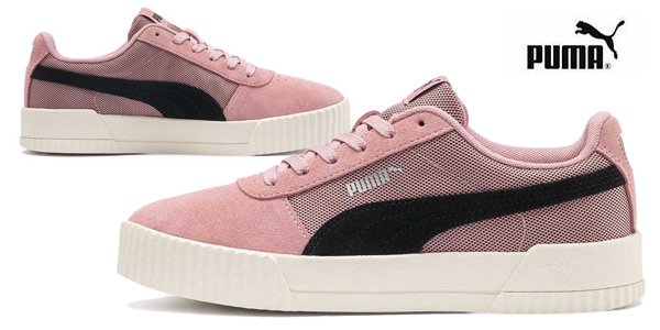 Zapatillas Puma Carina Lux SD para mujer baratas en Amazon