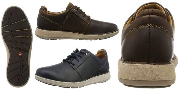 Zapatos Clarks Un Larvik Lace de tipo Derby para hombre baratos