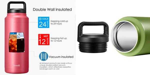 Botella térmica Brewsly en oferta en Amazon
