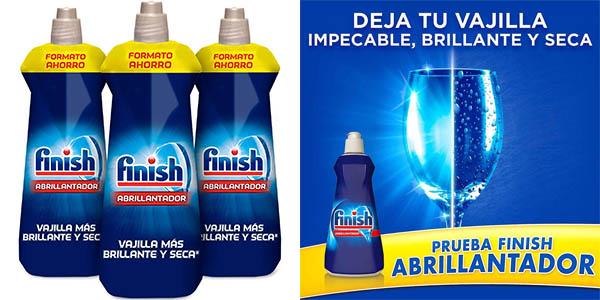 Pack x3 Botellas Finish abrillantador para lavavajillas