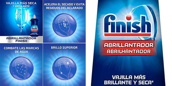 Pack x3 Botellas Finish abrillantador para lavavajillas barato