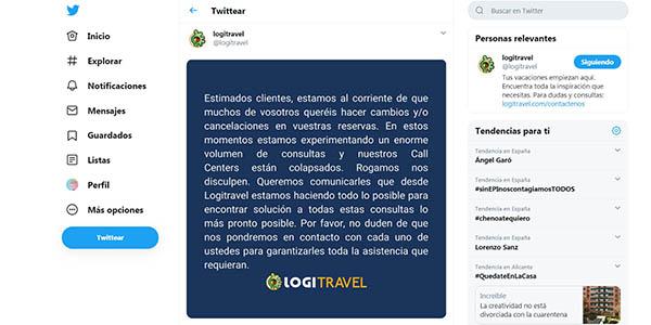 agencias de viajes online cancelaciones especiales por el coronavirus