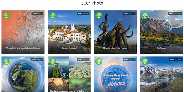Airpano fotos panorámicas y vídeos del mundo