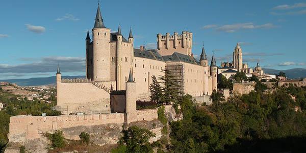 Alcázar de Segovia castillo que sirvió de inspiración para Blancanieves y los 7 enanitos