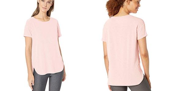 Camiseta deportiva Amazon Essentials Studio Relaxed Fit Crewneck barata en Amazon