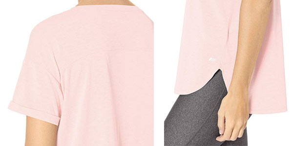Camiseta deportiva Amazon Essentials Studio Relaxed Fit Crewneck en oferta en Amazon