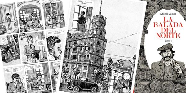 Astiberri Editorial La Balada del Norte de Alfonso Zapico gratis en Descarga PDF