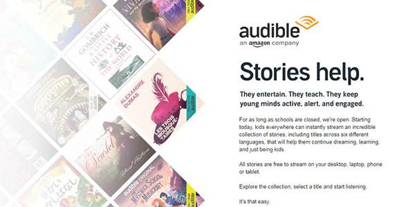 Audible audiolibros infantiles gratis