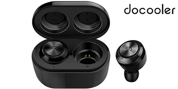 Auriculares inalámbricos Docooler A6 TWS con Bluetooth 5.0