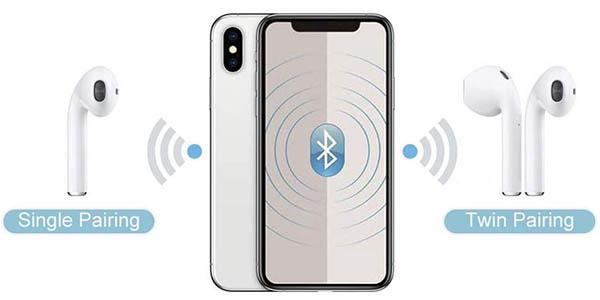 Auriculares Bluetooth 5.0 con estuche de carga en Amazon