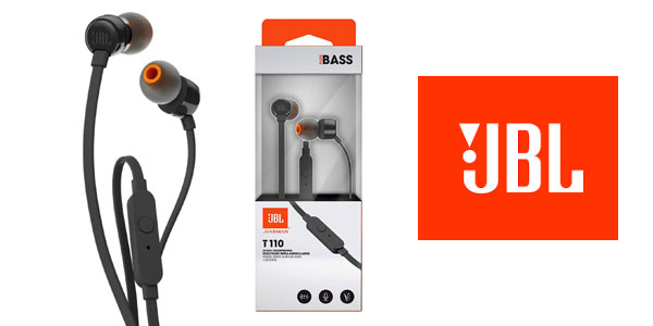 Auriculares intraaurales JBL Tune 110 baratos en Amazon