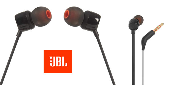 Auriculares intraaurales JBL Tune 110 en oferta en Amazon