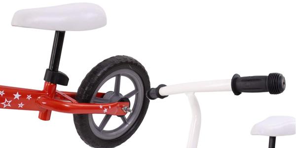 Bicicleta sin pedales para niños Risko con sillín regulable chollo en Amazon