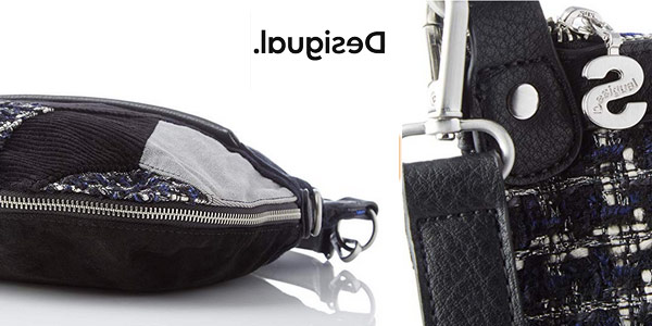 Bolso bandolera Desigual Liberté Patch Fold chollo en Amazon