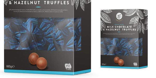 Caja de Bombones de chocolate y avellanas Happy Belly Select de 665 gr chollo en Amazon