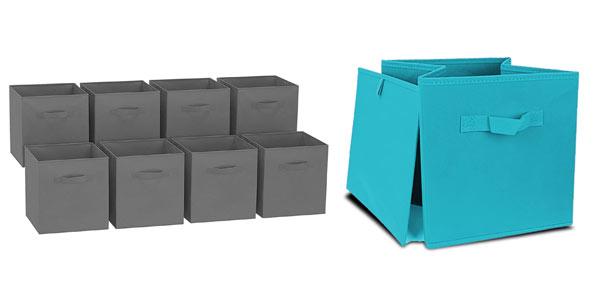 Cajas de almacenaje plegables baratas