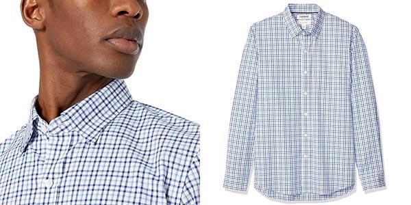 Camisa Amazon Goodthreads Slim-fit Long-Sleeve Stretch Poplin chollo en Amazon