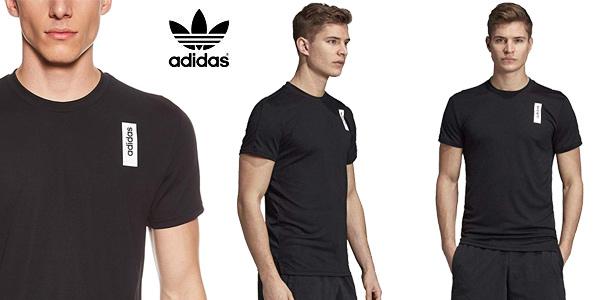 Camiseta manga corta adidas Brilliant Basics T-Shirt para hombre chollo en Amazon
